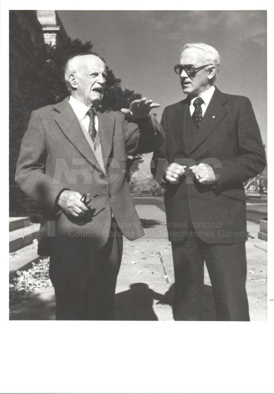Presentation to C.J. MacKenzie (80th Birthday) 1968 001
