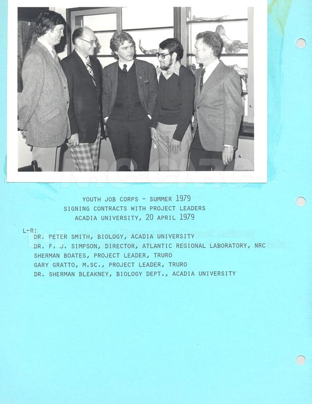 Summer Students 1979 012