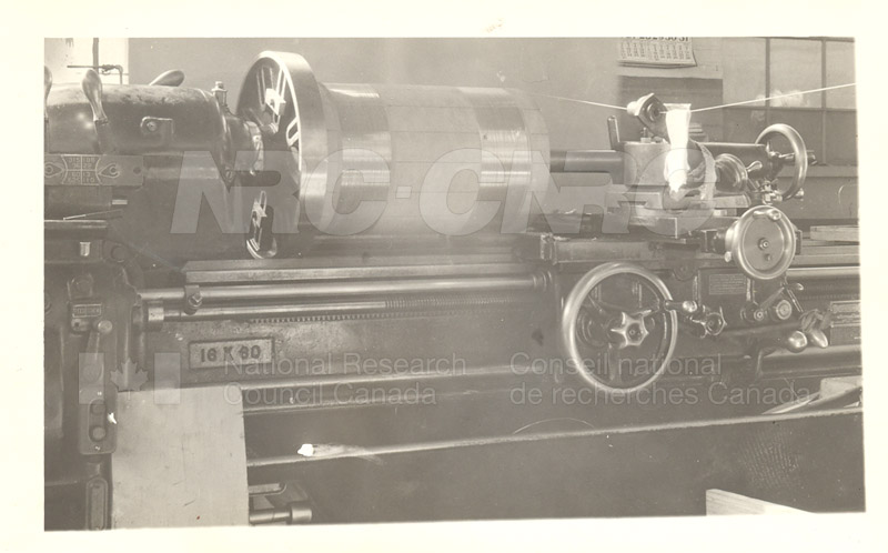 Model Standard of Mutual Inductance Being Wound in NRC Shop 1936 002