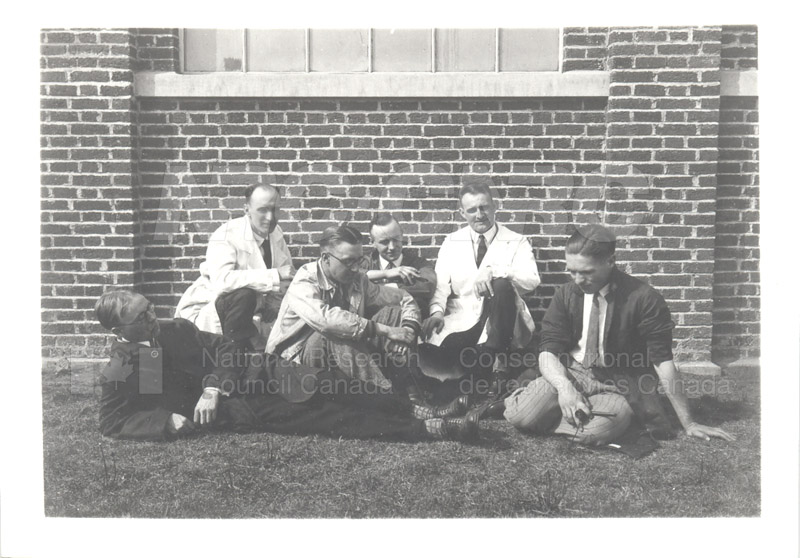 NRC Staff at U. of Alberta 1929 001