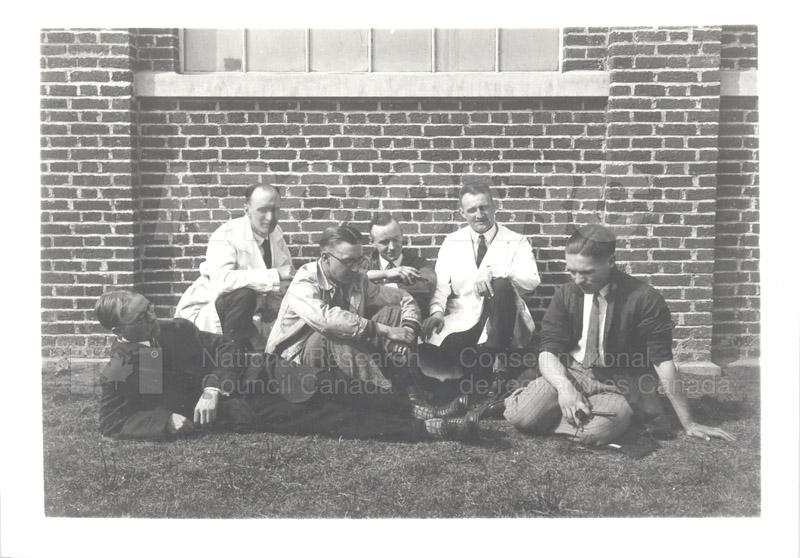 NRC Staff at U. of Alberta 1929 001