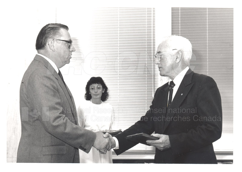 25 Year Service Presentation Sept. 12 1989 004