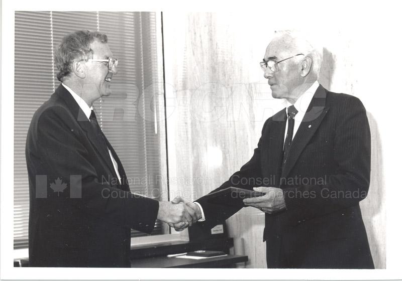 25 Year Service Presentation Sept. 12 1989 005