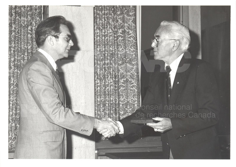 25 Year Service Plaques Presentations 1983 014