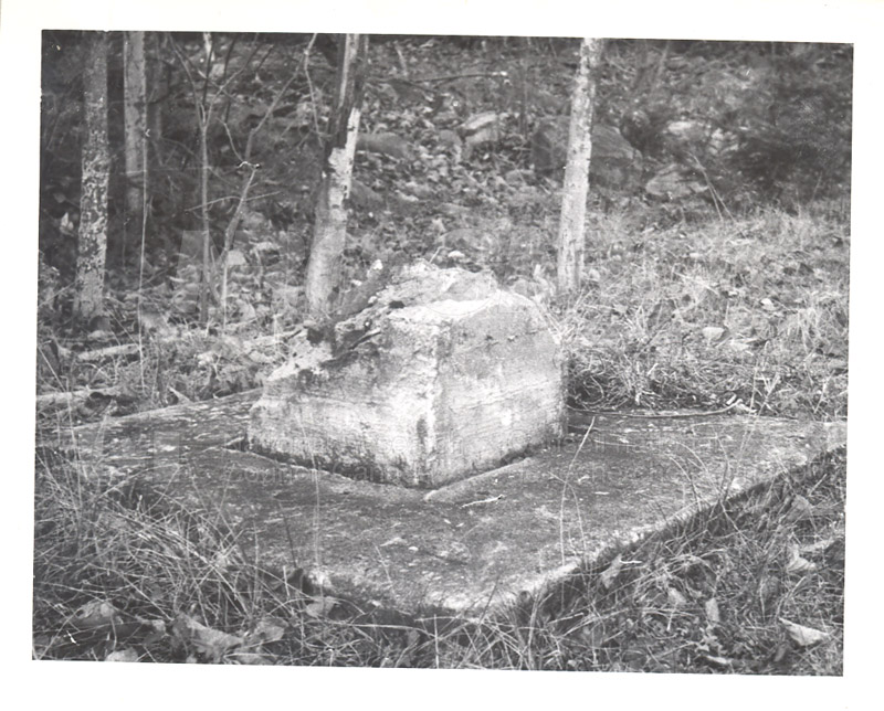 Observatory- Magnetic Survey Point at Douglas, York Co. N.B. Nov. 25 1953 001