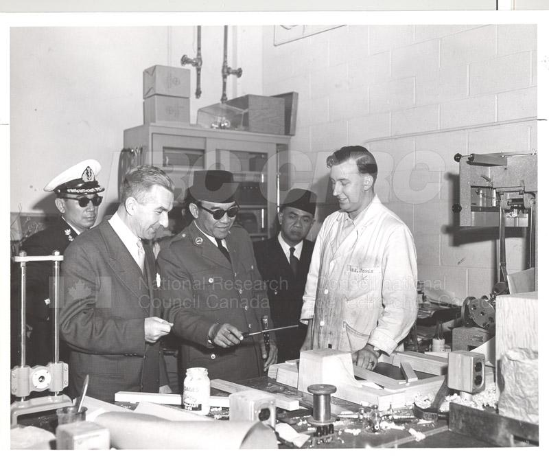 Pres. Sukarno (of Indonesia) visits NRC June 4 1956 001