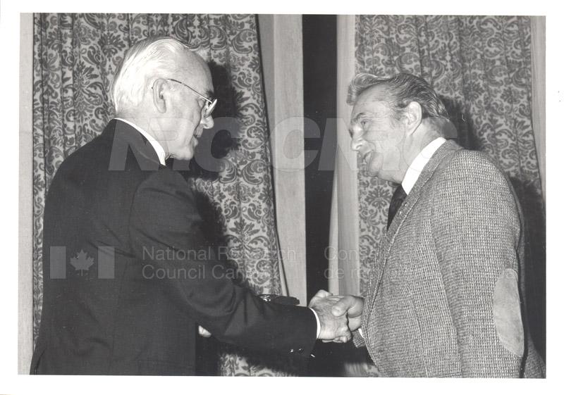 25 Year Service Presentations Oct. 29 1986 030