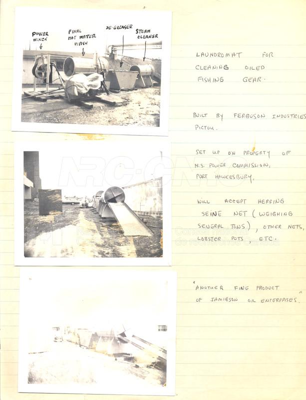 Arrow Oil Spill Clean Up 1970 006
