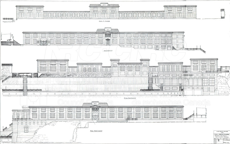 Mechanical Engineering- Drawings Elevations of Annex Property (Sussex)