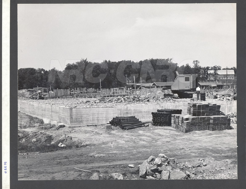 Construction of M-50 Summer 1952 #3138 005
