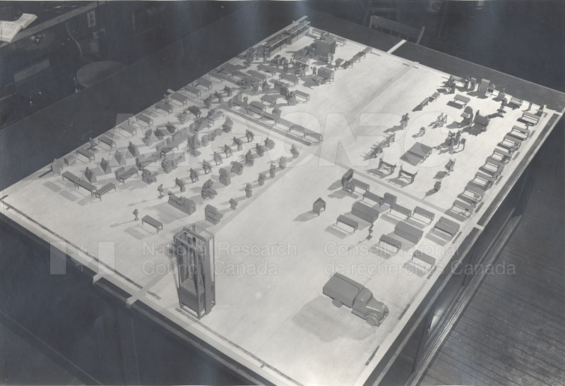 Construction of M-50 Model and Road Layout 003