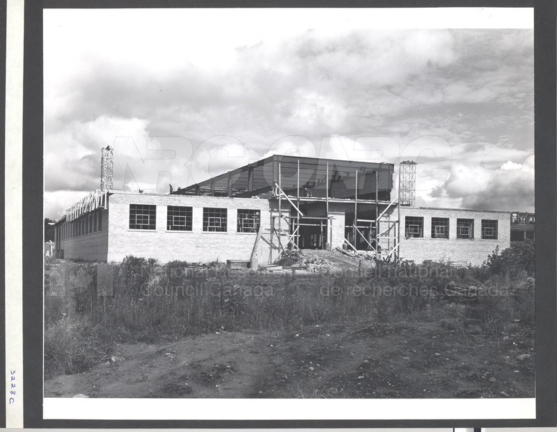 Construction of M-50 Sept. 17 1952 #3228 003
