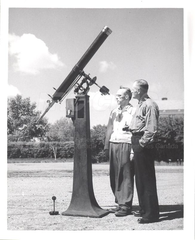 4ll Brashear Refractor W.P.C. Kinsman, T.R. McFarlane June 10 1952