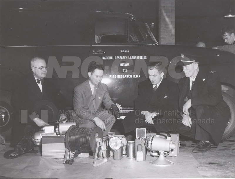 Fire Research Vehicle Inspection 1952