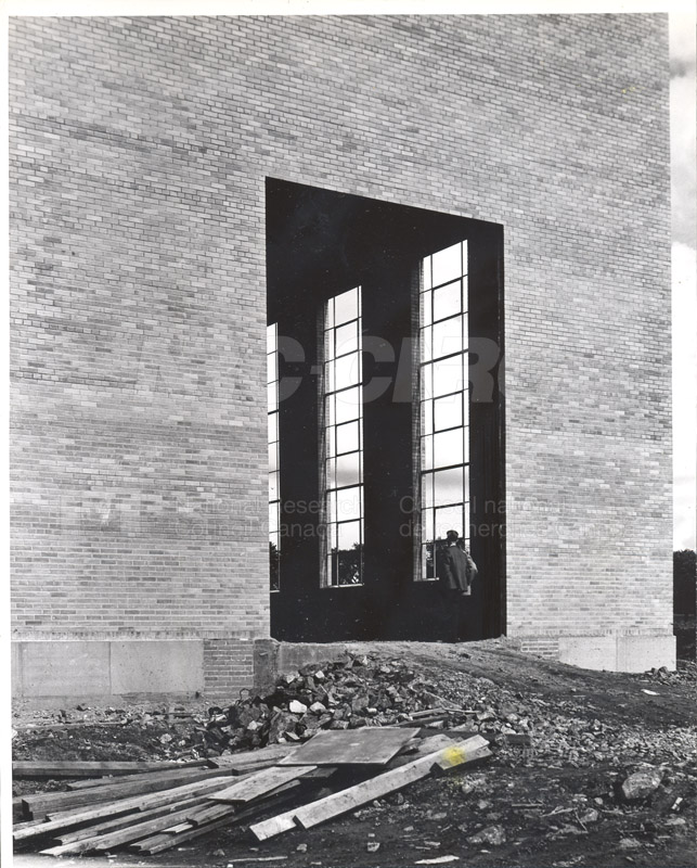 Administration Building Construction 1950s 023