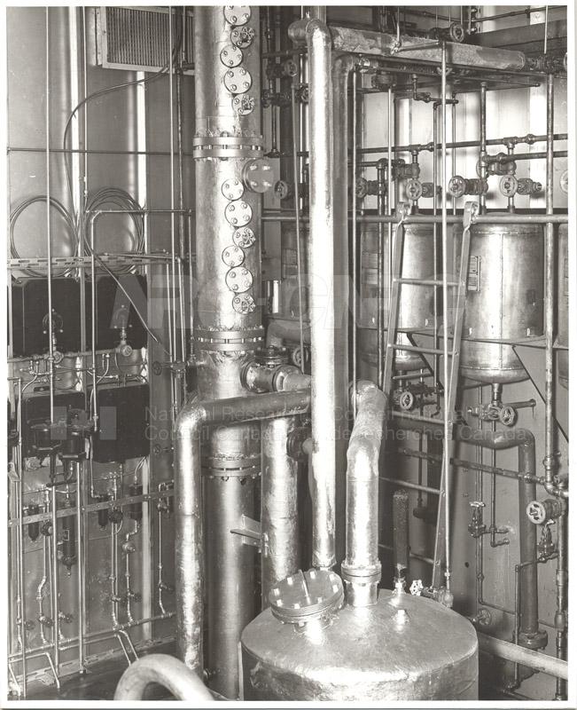 8'' Bubble Cap Distillation Column 1951