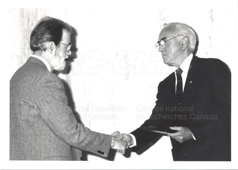 25 Year Service Presentations June 8, 1988 012