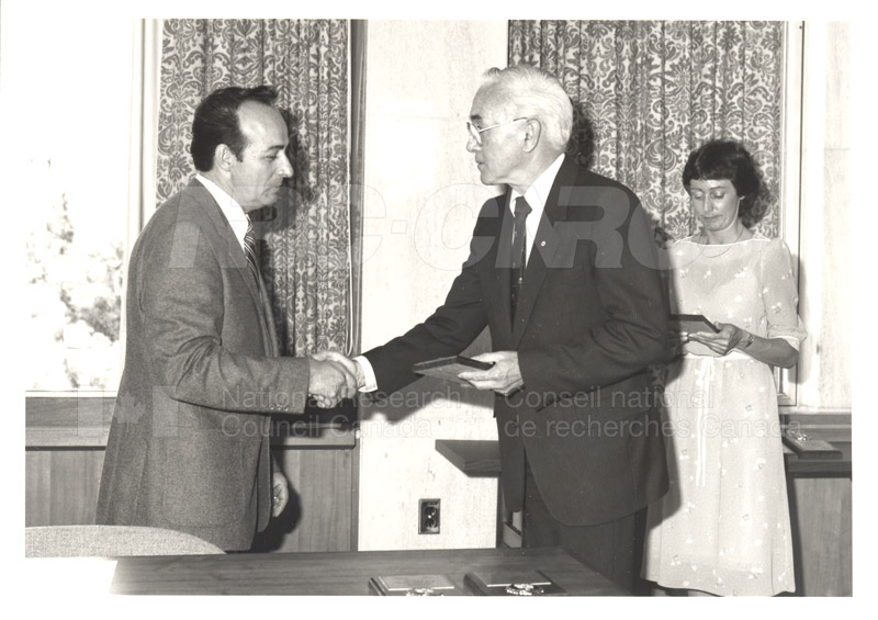 25 Year Service Plaques Presentations 1984 027