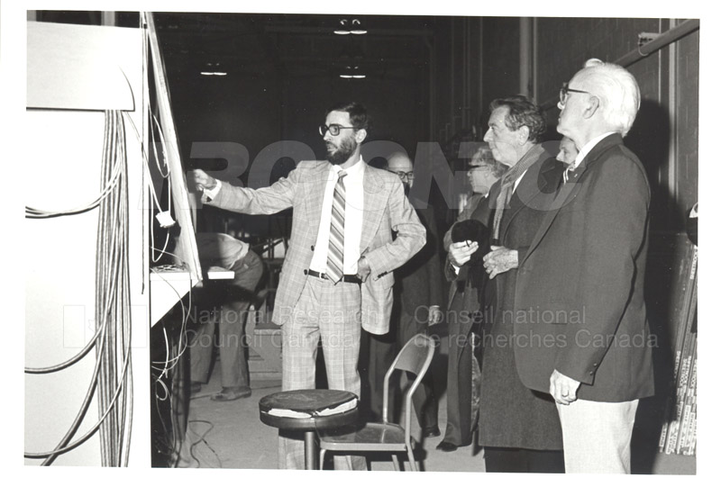 Corporate Services- Visit of French Ambassador Touring Hydraulics Lab 1981 003