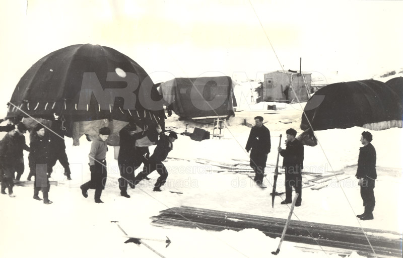 International Geophysical Year Visit to the North Jan. 30 1957 004