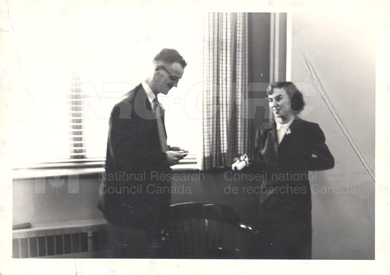 Ed Cosgrove, Miss Cullen 1953