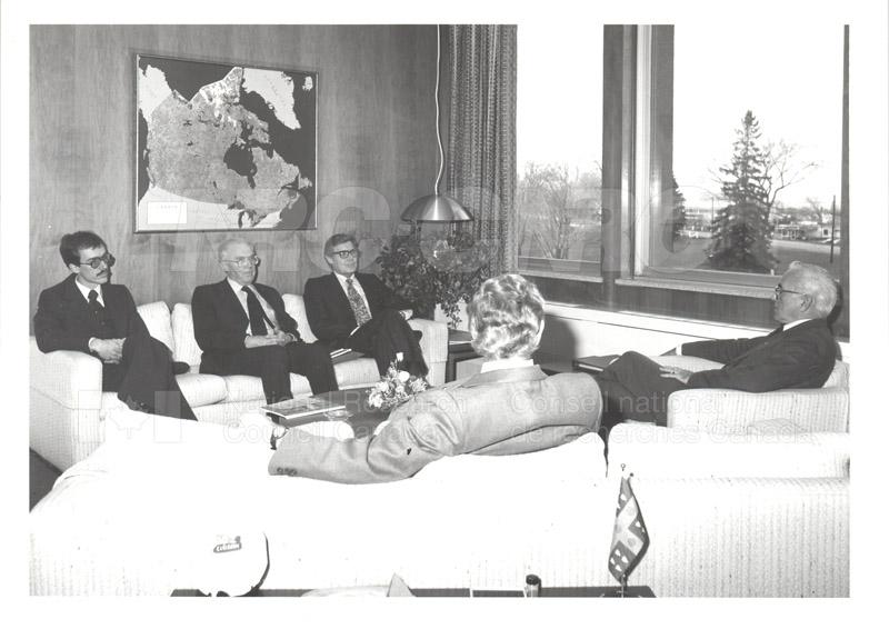 Visit of Mr. A. Williams and Dr. L. Bovey, U.K. Dept. of Industry 1982 002