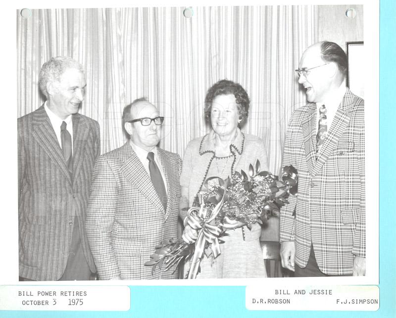 Retirements William A. (Bill) Power 1975 003