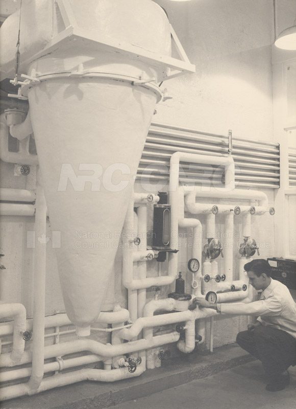 Experimental Spray Dryer Jan. 1951