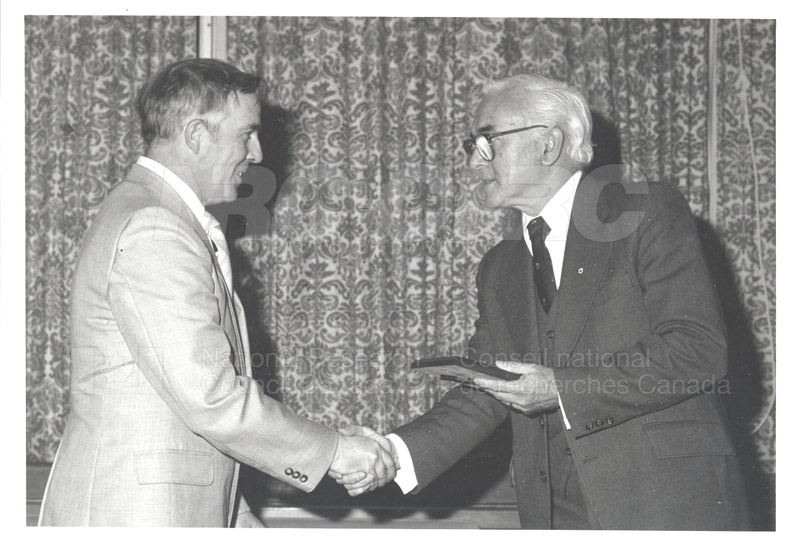25 Year Service Plaques Presentations 1981 018