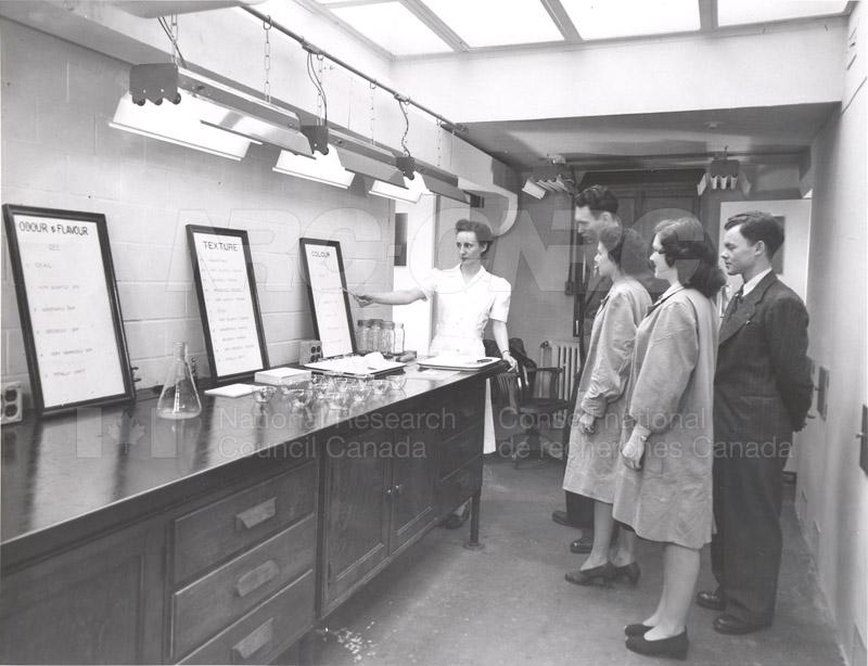 Food Chemistry- Taste Panel c.1948