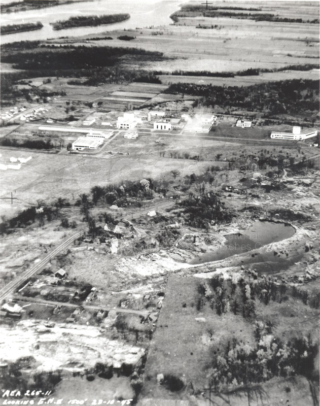 Montreal Road Campus Aerial Views 1945 001