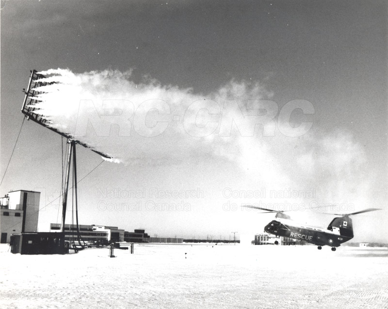 Helicopter De-icing