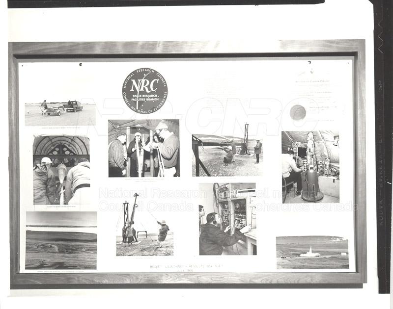Black Brant- Rocket Launching- Resolute Bay July 1966