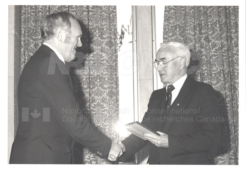 25 Year Service Presentations Nov. 1985 012