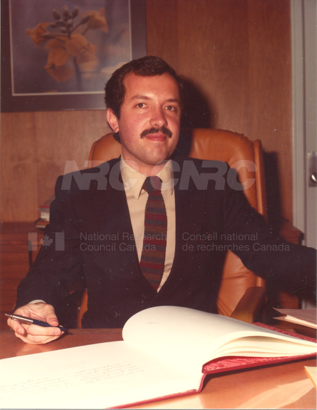 Visit of Ambassador of Brazil 1983 002