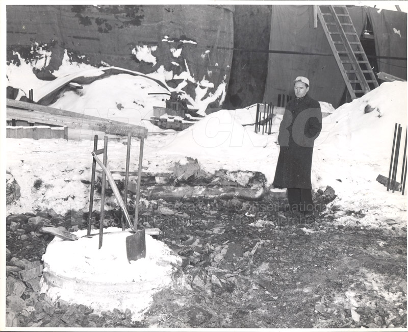 Administration Building Construction 1950s 026