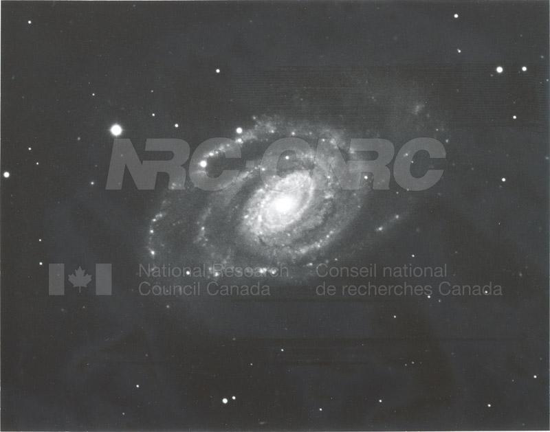 Galaxies- Spiral Nebula in Virgo- Mount Wilson and Palomar Observatories