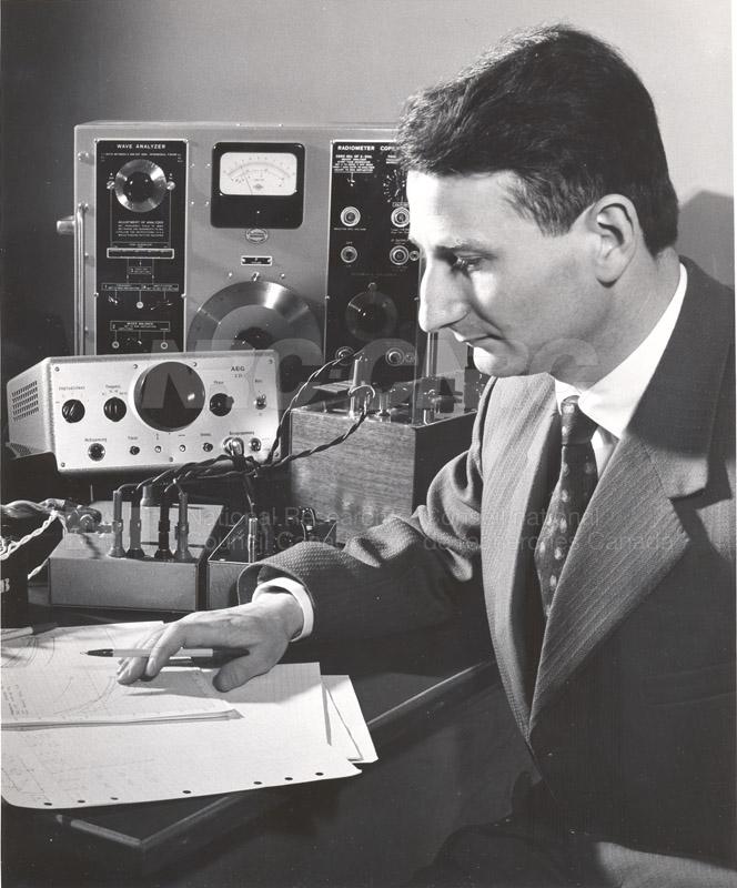 Dr. P. Miljanic Post Doc E.E. 1960-61 002