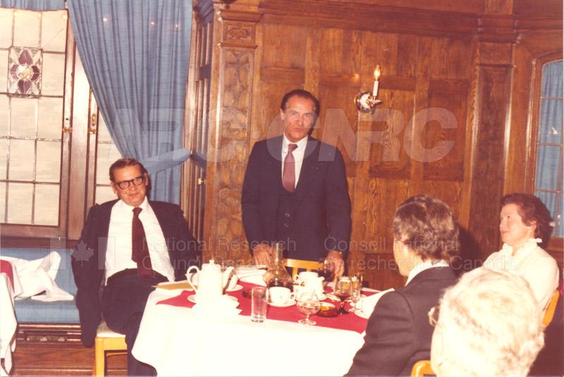 Farewell Dinner for W.G. Schneider 1980 010