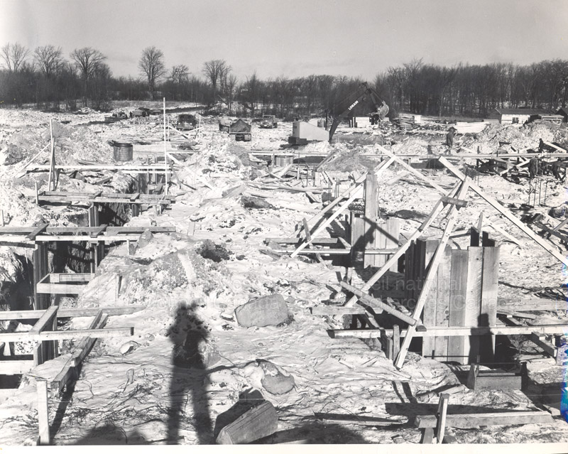 Administration Building Construction 1950s 004