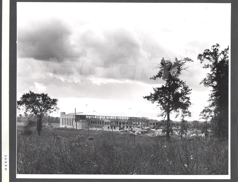 Administration Building Construction 1950s 019