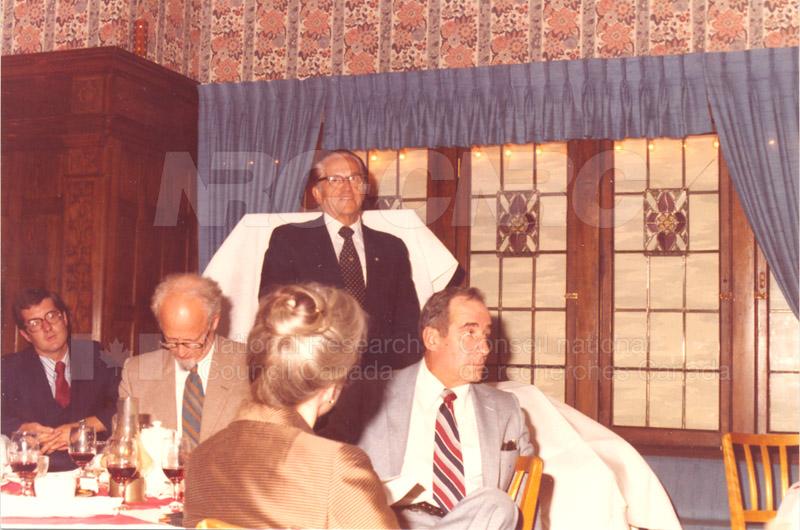 Farewell Dinner for W.G. Schneider 1980 005