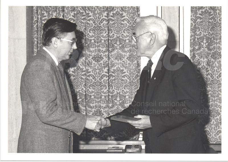 25 Year Service Presentations Nov. 1985 024