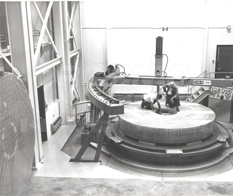 Dominion Astrophysical Observatory Victoria- Canada France Hawaii Telescope March 1978 CFHT Mirror 001