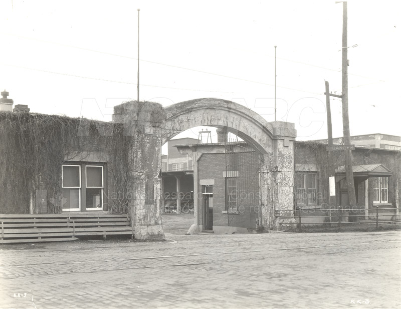 NRC Laboratories Annex- Old Entrance to Edwards Mill (KK-3) 1929