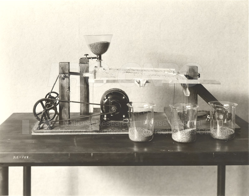 Seed Separation Table 1930s