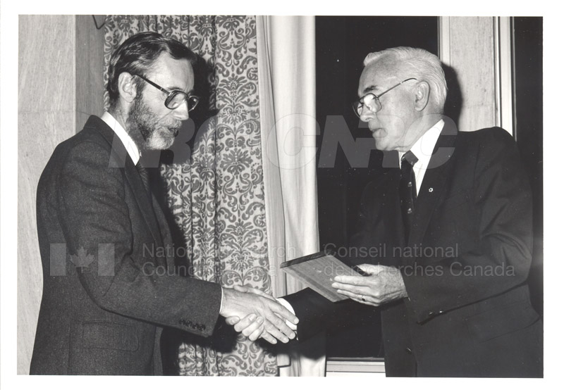 25 Year Service Presentations Oct. 29 1986 008
