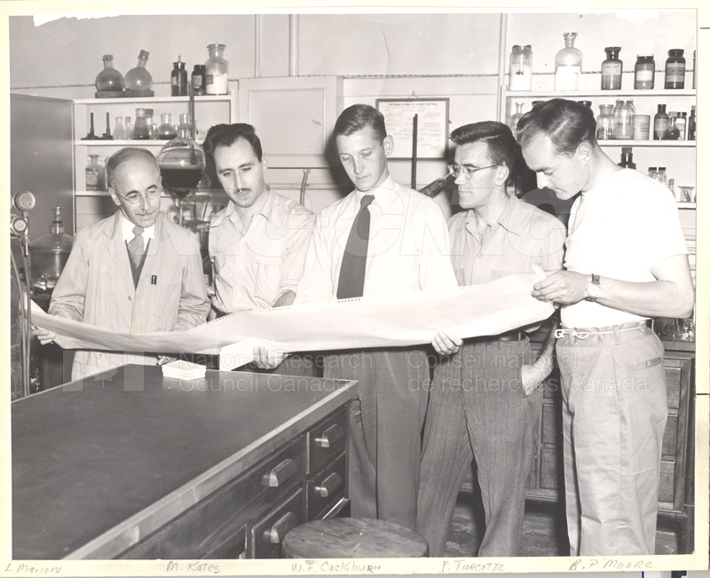 Postdoctorate Fellows 1951 001