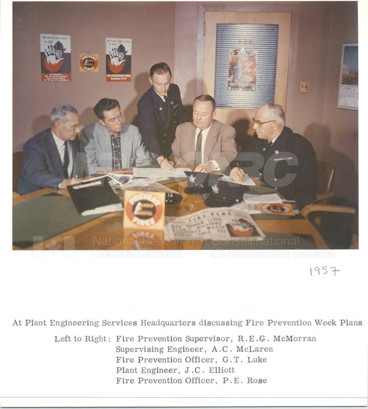Fire Prevention Section Activities (Mr. Luke) 1950s+60s 010