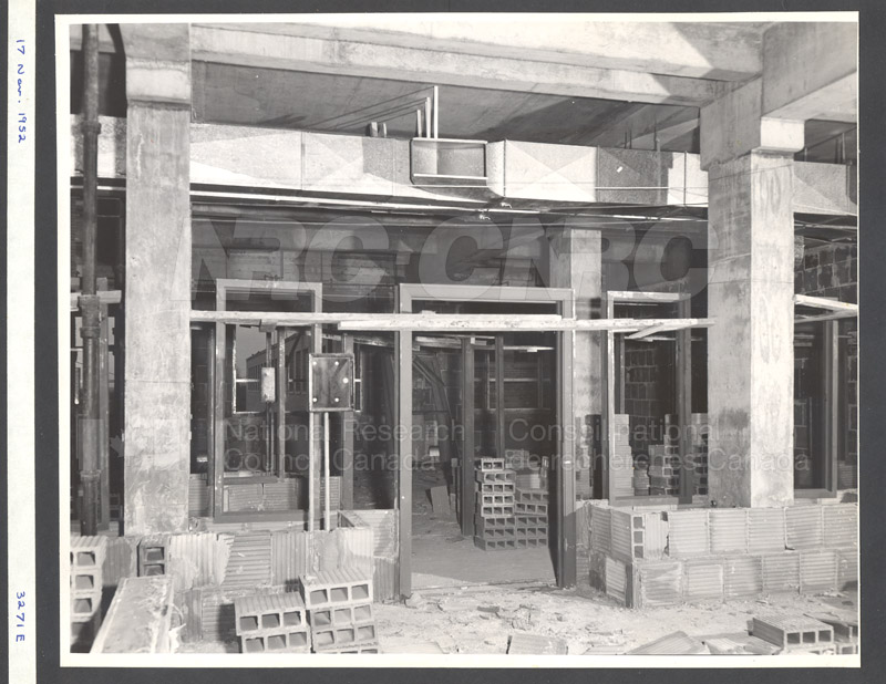 Construction of M-50 Nov. 17 1952 #3271 005